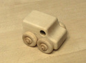 Image of CP309 Mini Van Hard Maple Unit Block Vehicle in Hard Rock Maple