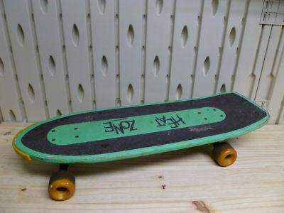 SOLE23COLLECTOR MJSINCE89 Vintage 80s Heat Zone Skateboard