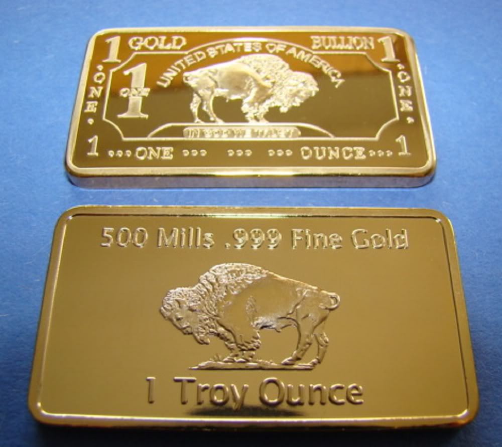 Esteemed Treasures Mint 1 Troy Ounce Gold 24k 999