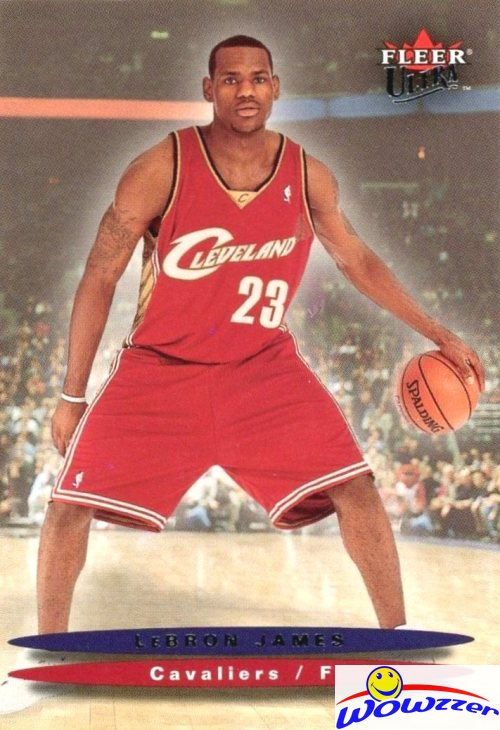 Details About 200304 Fleer Ultra 171 Lebron James Rookie Card Lakers Fhof