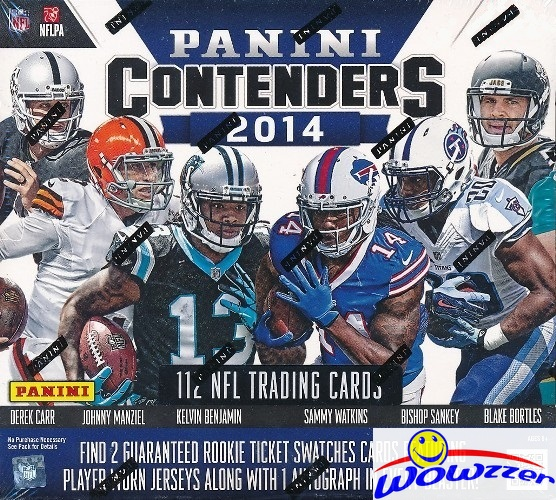2014 Panini Contenders Football HUGE Sealed SUPER Box-(3