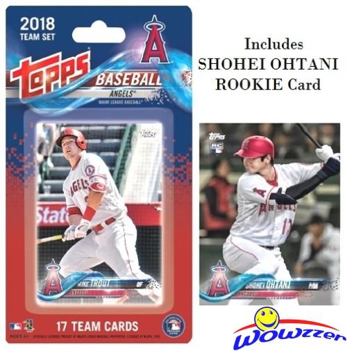 2018 Topps Baseball Factory Set Retail Version Shohei Ohtani RC