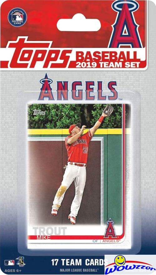 Details About Los Angeles Angels 2019 Topps Limited Edition 17 Card Team Set Mike Troutohtani