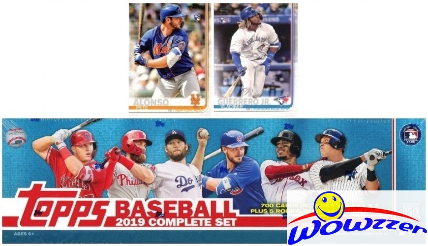 Details About 2019 Topps Baseball 706 Cards Huge Retail Factory Set 2 Vladimir Jrpete Alonso