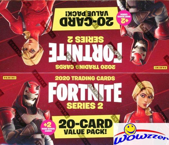 2020 Panini FORTNITE Trading Cards MASSIVE Factory Sealed JUMBO FAT Box-264 Card