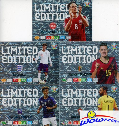 Panini Adrenalyn XL UEFA Euro em 2020 todos los 20 line-up tarjetas completamente