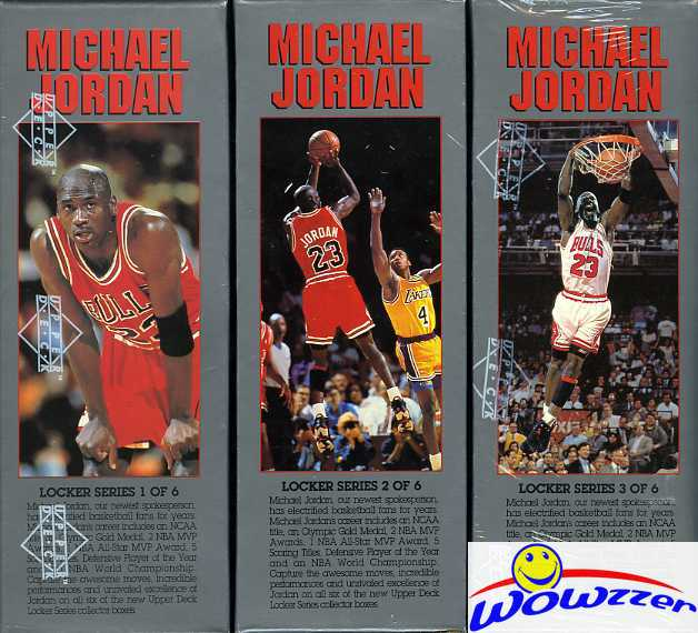 1991/92 UD NBA Michael Jordan Locker Series FACTORY SEALED