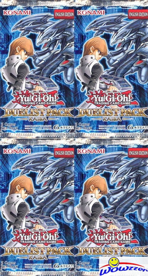 DPKB 48x Yugioh Duelliste Pack Kaiba UNSEARCHED Factory Sealed Booster Pack LOT!