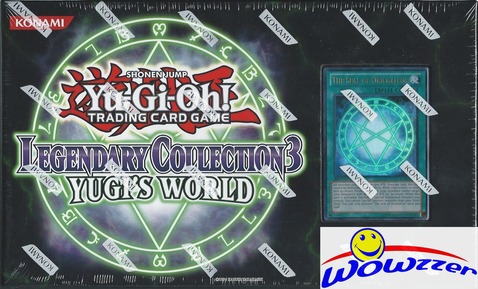 YUGIOH Legendary Collection 3 Factory Sealed Box-Yugis ... - photo#37