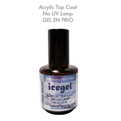 Nylias Acrylic Top Coat Ice Gel No Uv Lamp