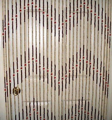 Hanging Wooden Beaded Curtain Door Beads Room Divider