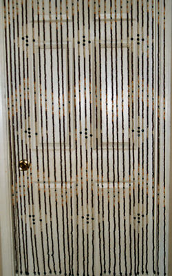 Hanging Wooden Door Beads Beaded Curtain Room Divider