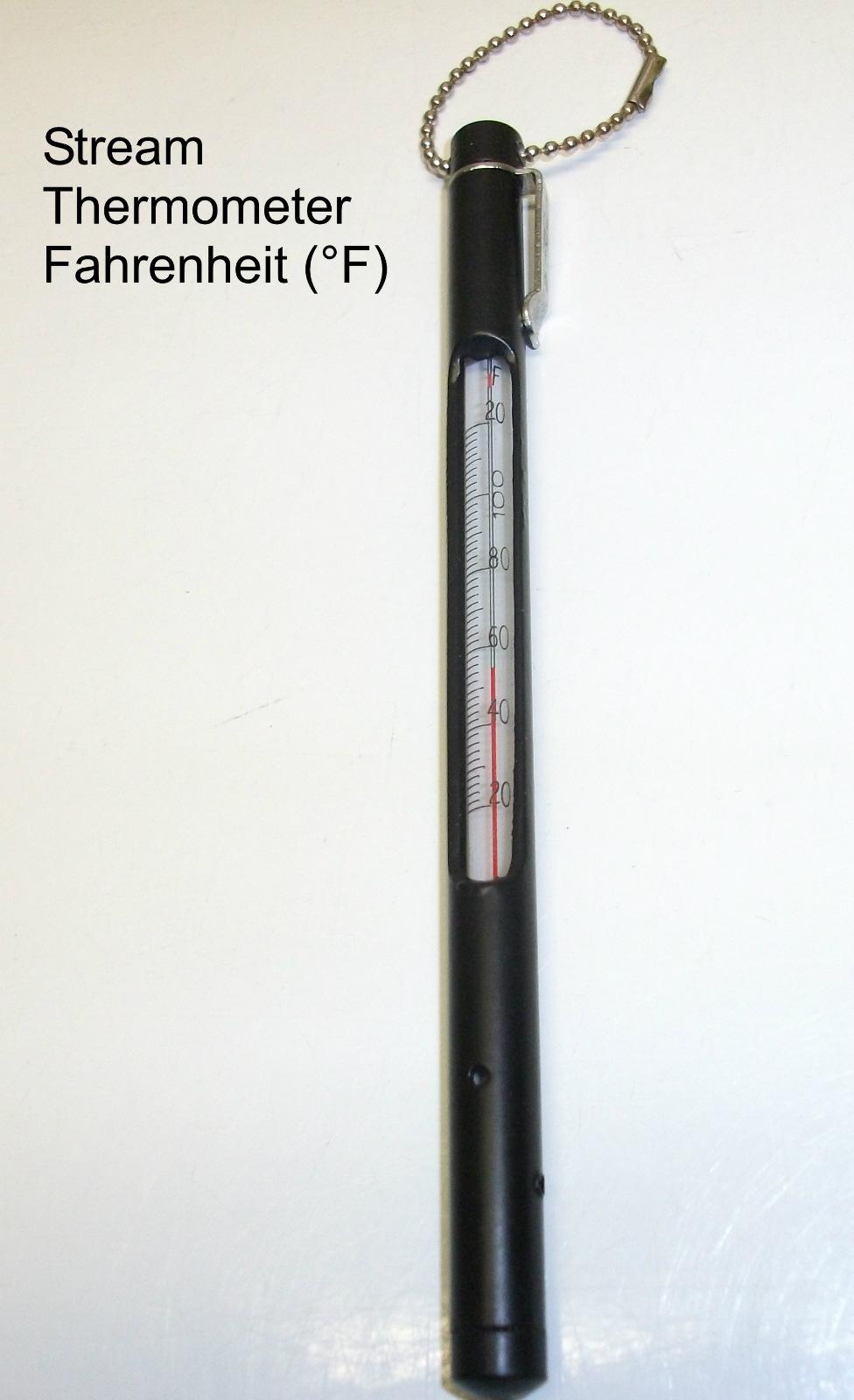 Wholesale Fly Company : Stream Thermometer - Fahrenheit (°F)
