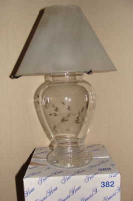 Timber334 Princess House Crystal Vase 382 Amp Tea Lamp Shade 047