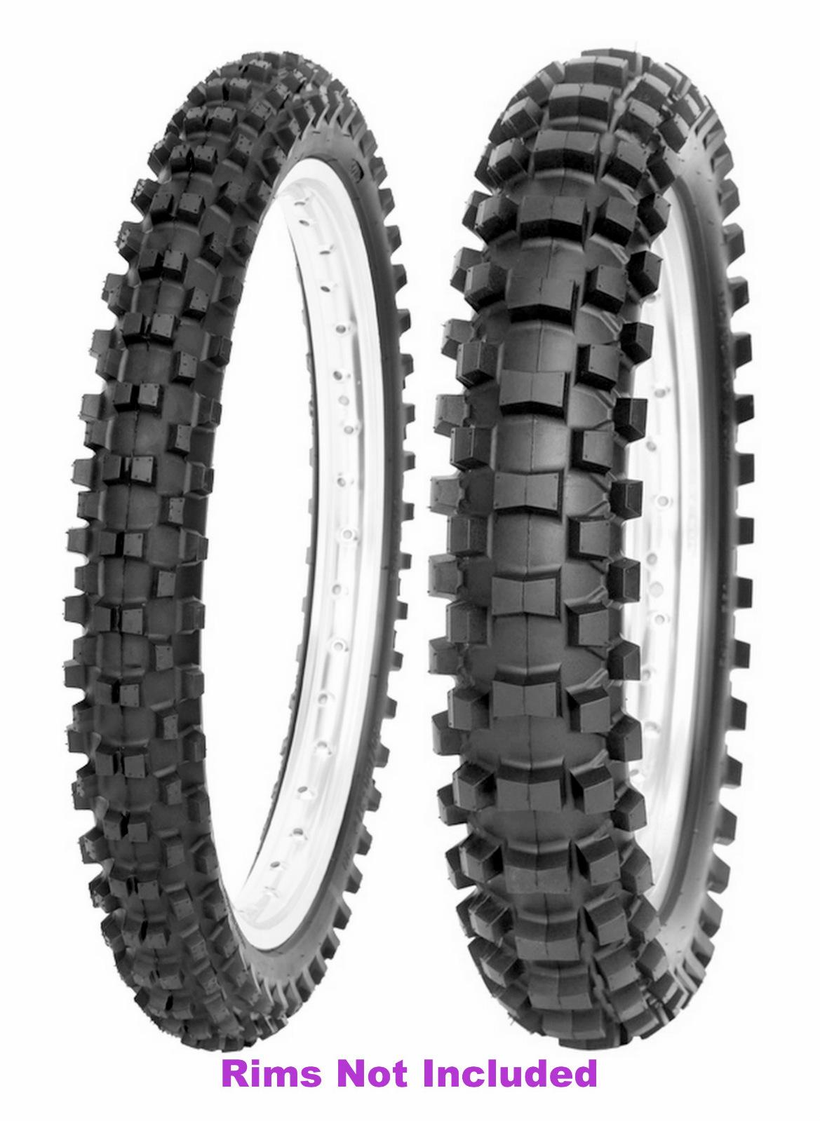 New STI 80//100-21 /& 120//100-18 Tech 2 Pro MX Off Road IT Tire Set