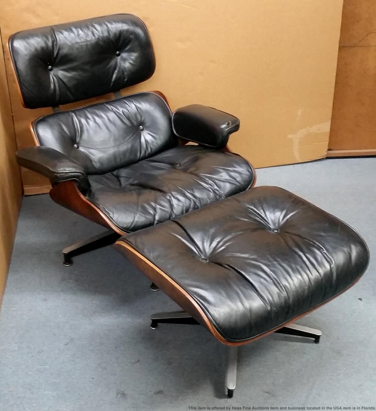 original vintage charles eames herman miller lounge chair. Black Bedroom Furniture Sets. Home Design Ideas