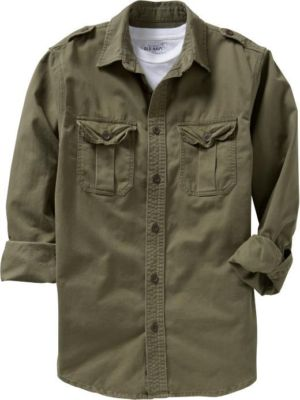 What Stores Accept Paypal Credit >> usaveiwin : Old Navy Mens Cotton Military Shirt Jacket S ...