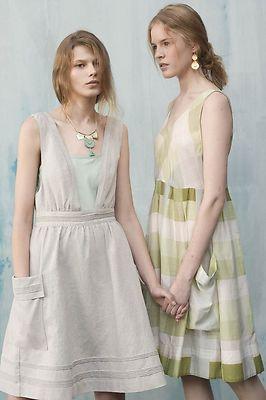 cdd3b120d31 NWT Anthropologie Marlowe Dress Jumper by Meadow Rue Cotton Size 10 ...