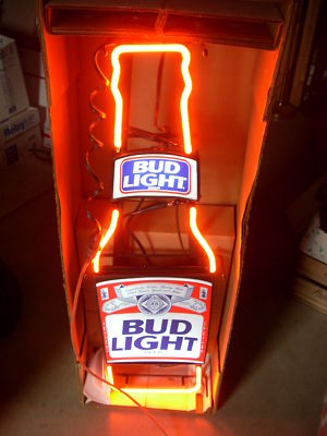 Allianceinvestments Vintage Budweiser Light Longneck