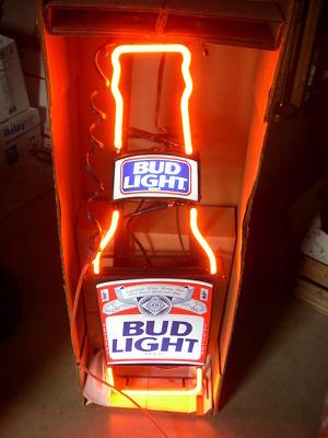Allianceinvestments Vintage Budweiser Light Longneck