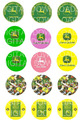 "John Deer Bottle Cap 1"" Circle Digital Download"
