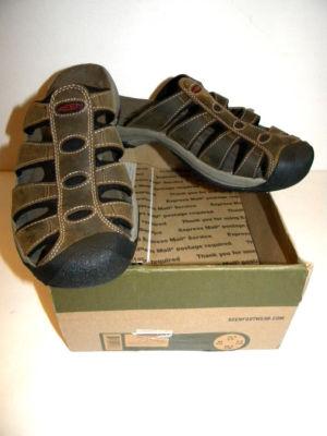 9cd2e670453e setmyclock   Mens KEEN Aruba Sandals Bison Sz 10.5 Like Ormond