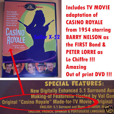 James bond casino royale 1954 blu ray / Book of ra slot machine tricks