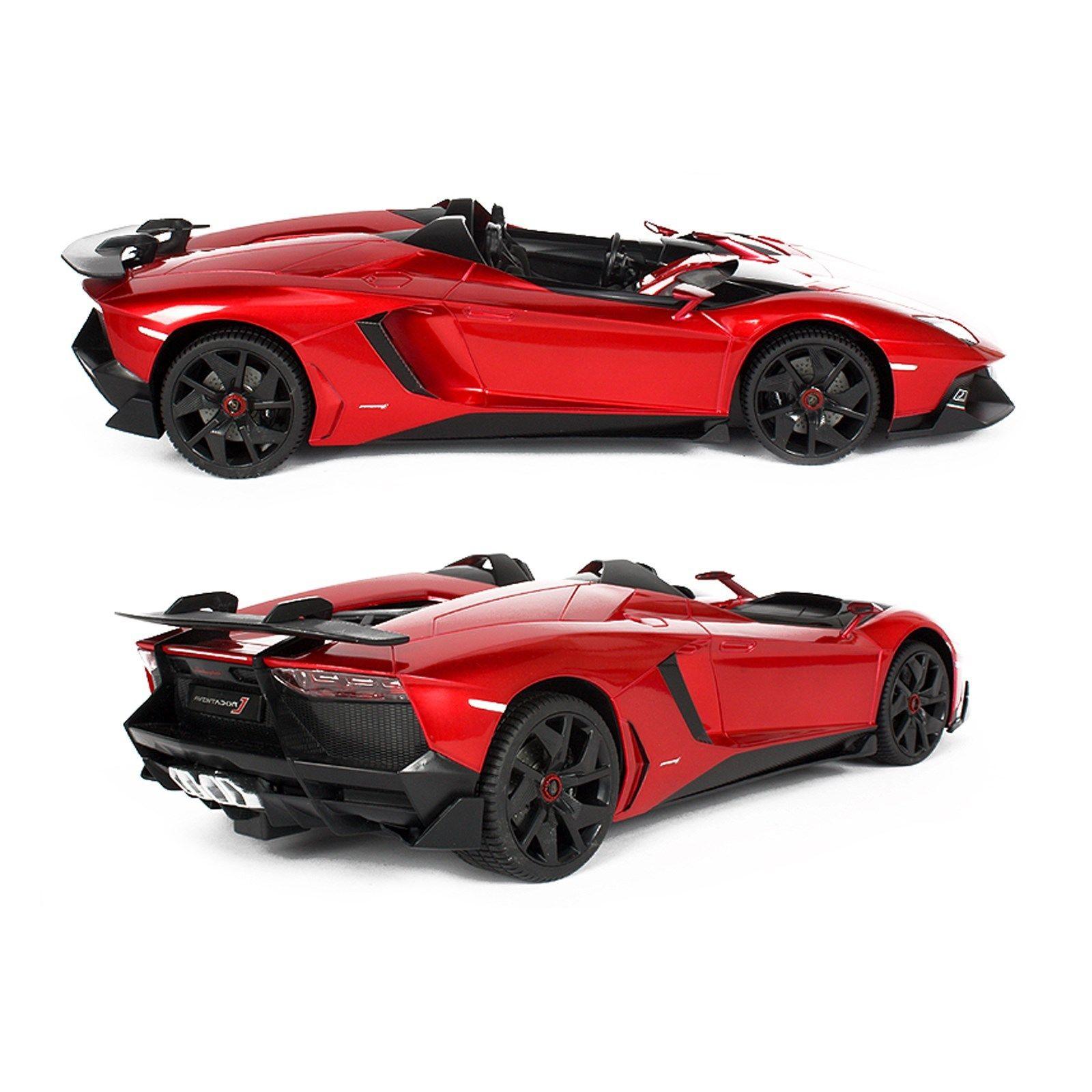 Lamborghini Supercar: Rastar RC Car Licensed1:12 Lamborghini Aventador J