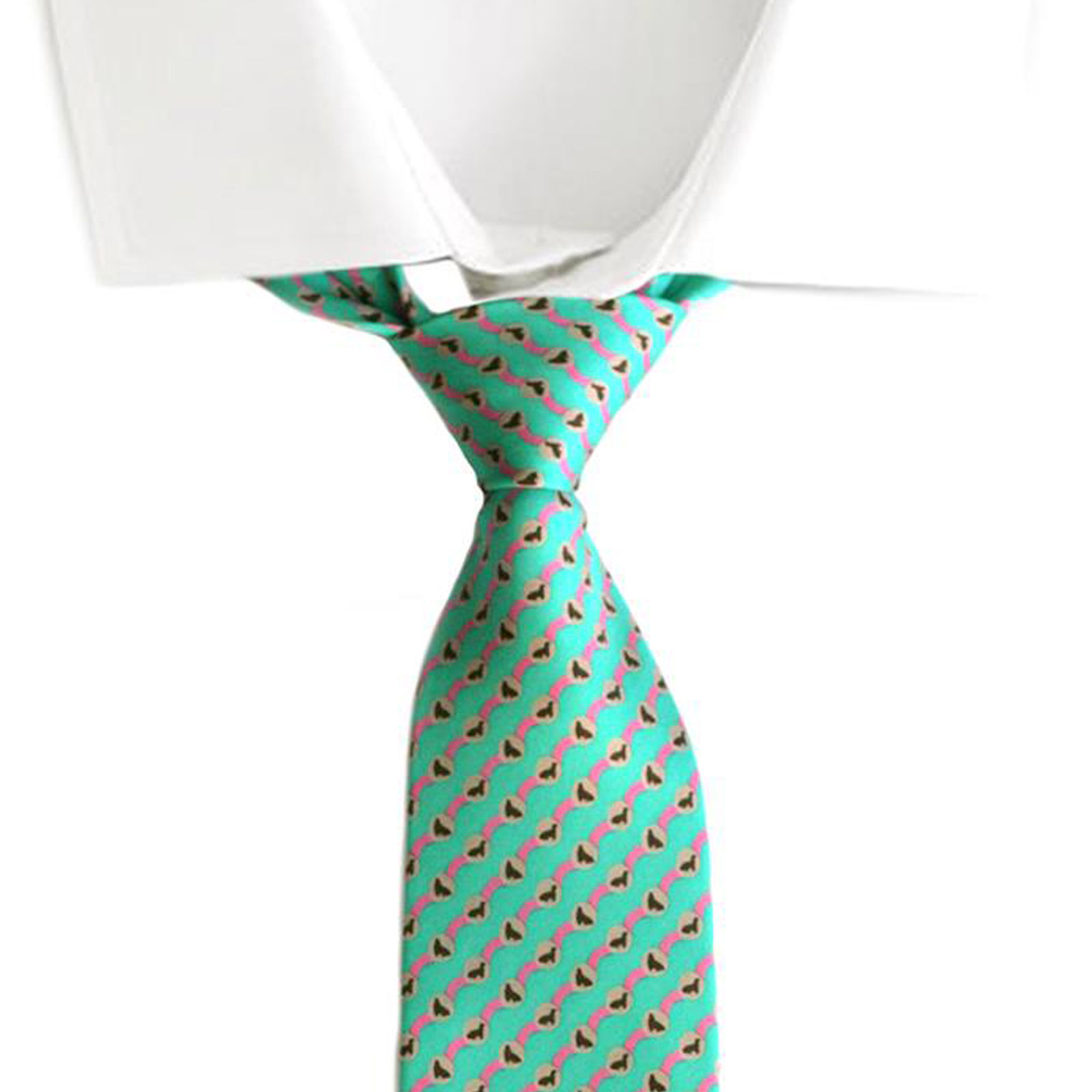 mens ties designer mftm  100% Silk Tie Neckwear-Mens Ties-Designer Ties Dok