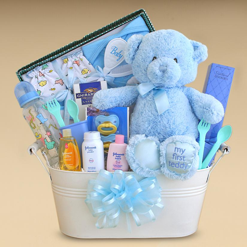Baby Shower Gift Ideas Boy : Baby shower food ideas basket for a boy