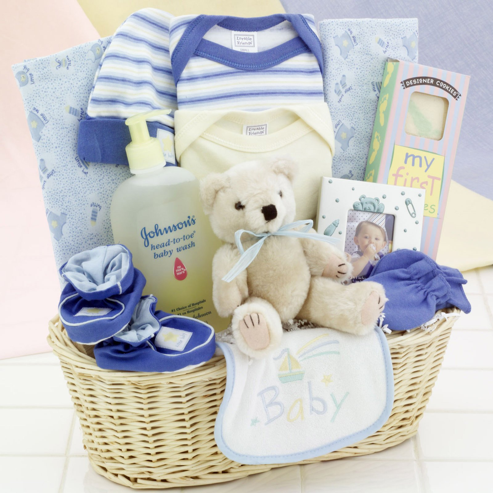 Gift Baskets Created News Arrival Baby Boy Gift Basket