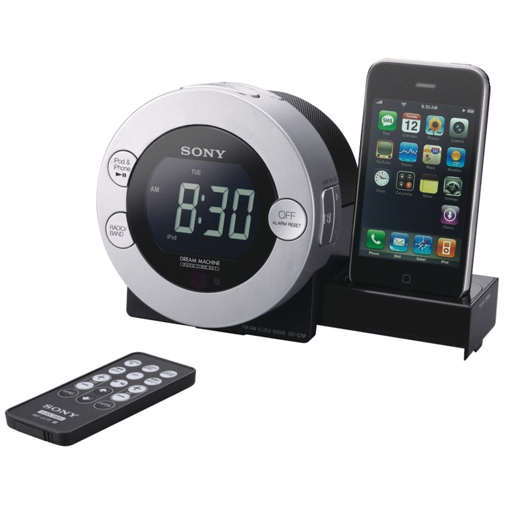 angel feathers sony icfc7ip dual alarm clock radio with ipod iphone dock. Black Bedroom Furniture Sets. Home Design Ideas