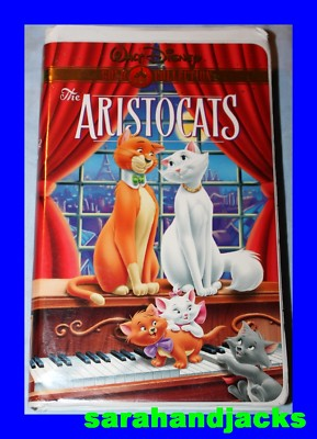 Stelias1 Disney S The Aristocats Vhs 2000 Gold
