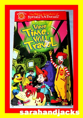 Stelias1 2001 Mcdonald S Happy Meal Vhs Have Time Will