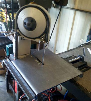 Bhigs101 Portaband Portable Vise Mount Band Saw Table