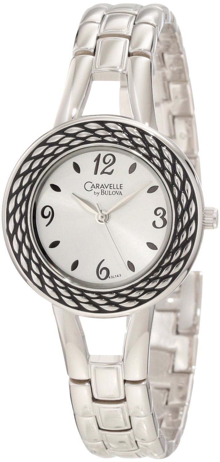 Caravelle by Bulova Women's 43L143 Rope Antiqued P