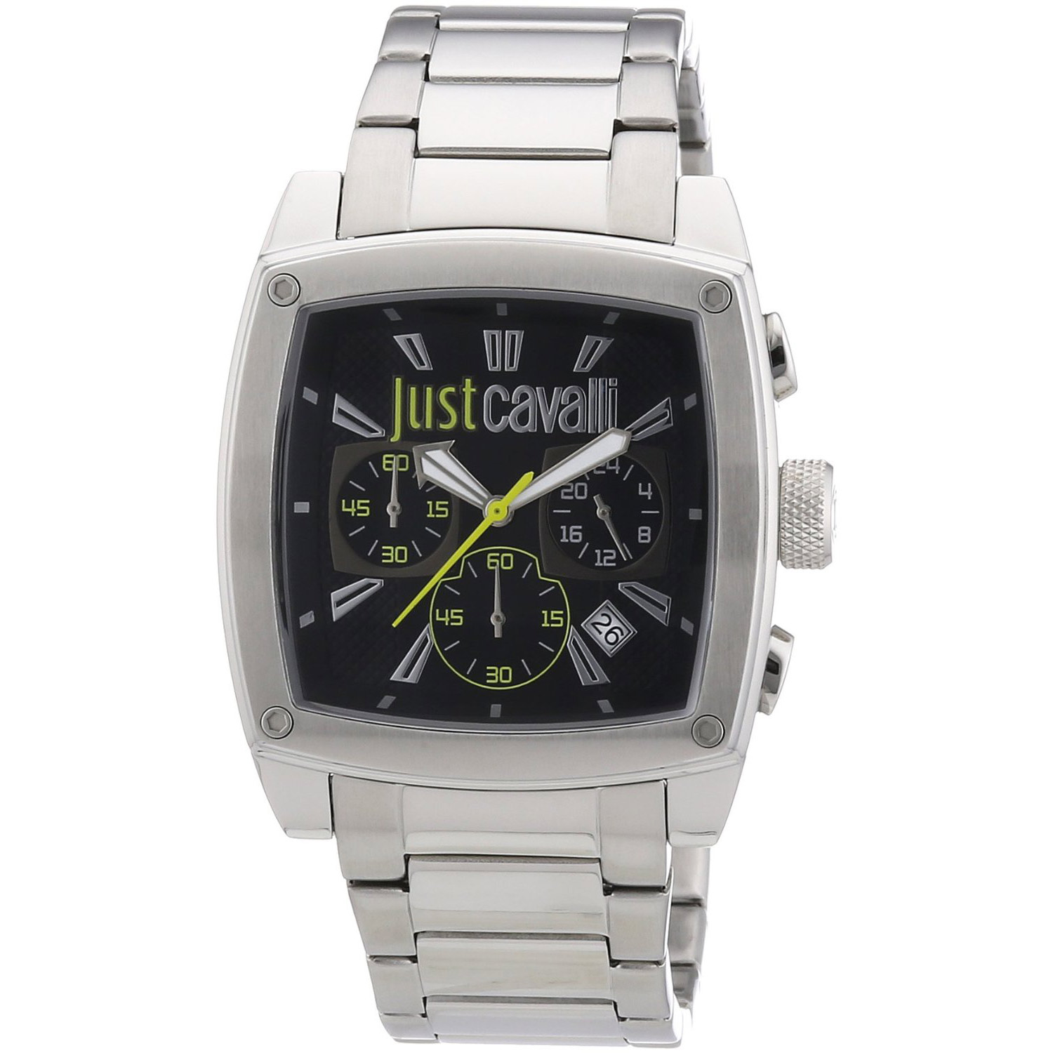 Just Cavalli Pulp Mens Chronograph Square Watch St