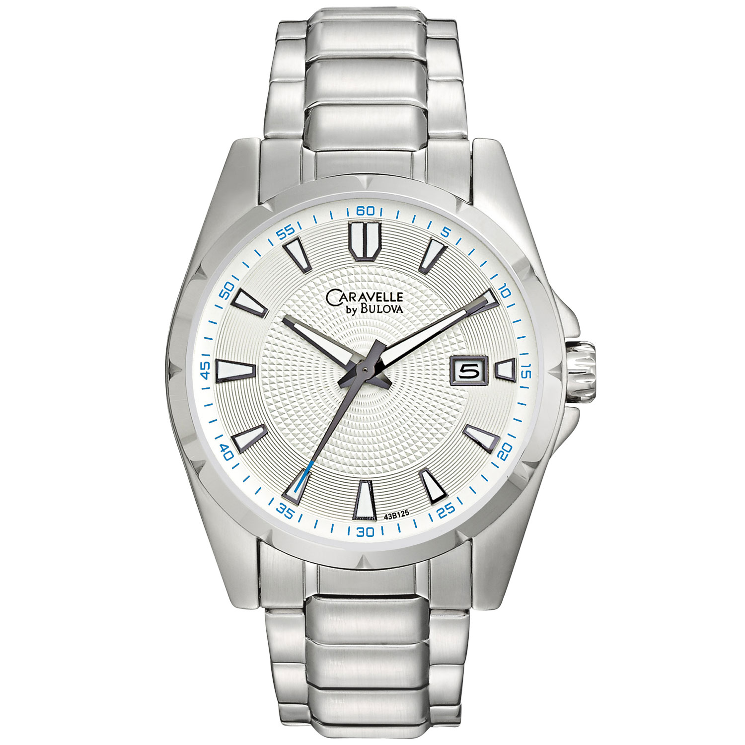 Caravelle by Bulova Men's 43B125 Sporty Bracelet W