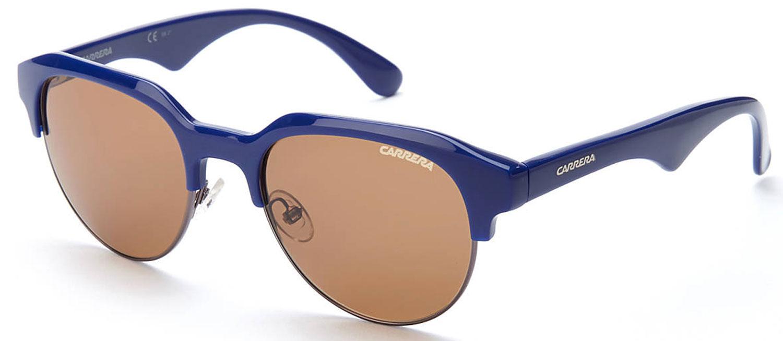 CARRERA CA6001 Blue Half-Rim Wayfarer Sunglasses B