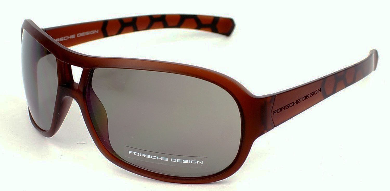 Porsche Design P8537-D Womens Transparent Brown Su