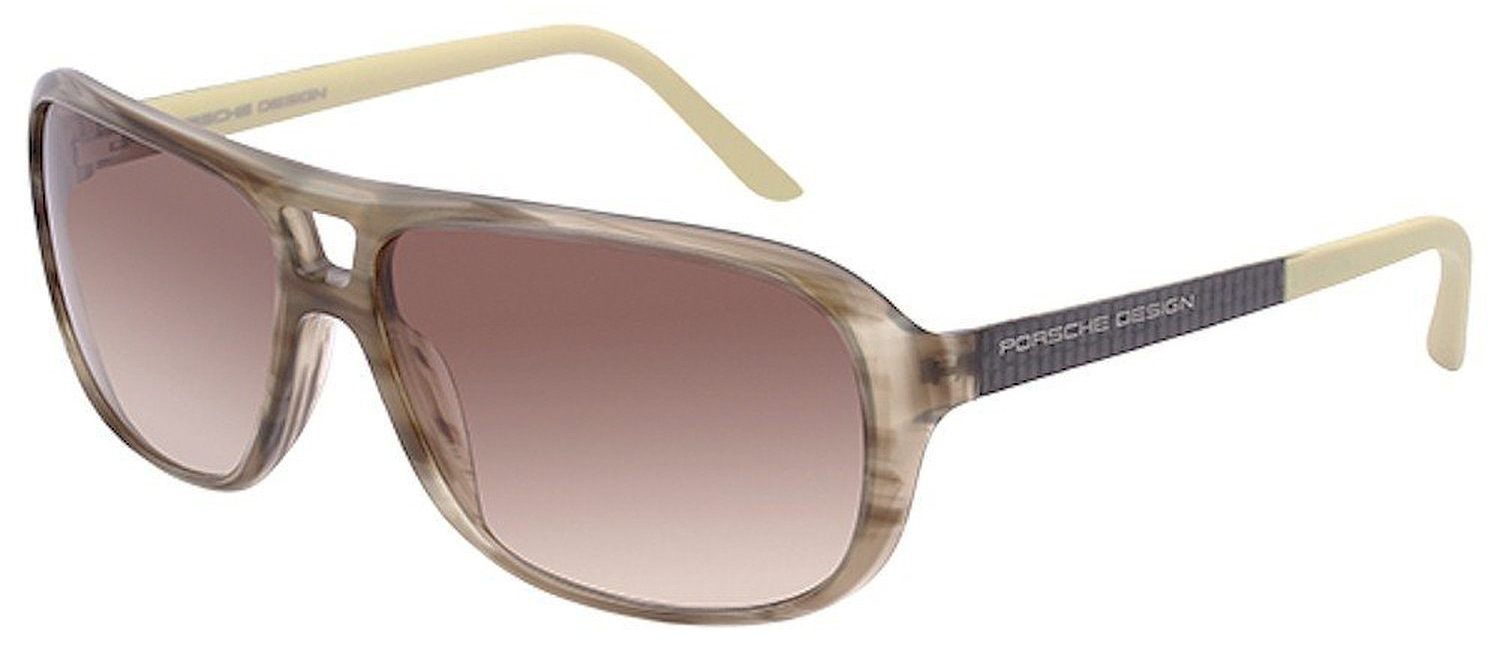 Porsche Design P8557-B Women's Olive Sunglasses Br