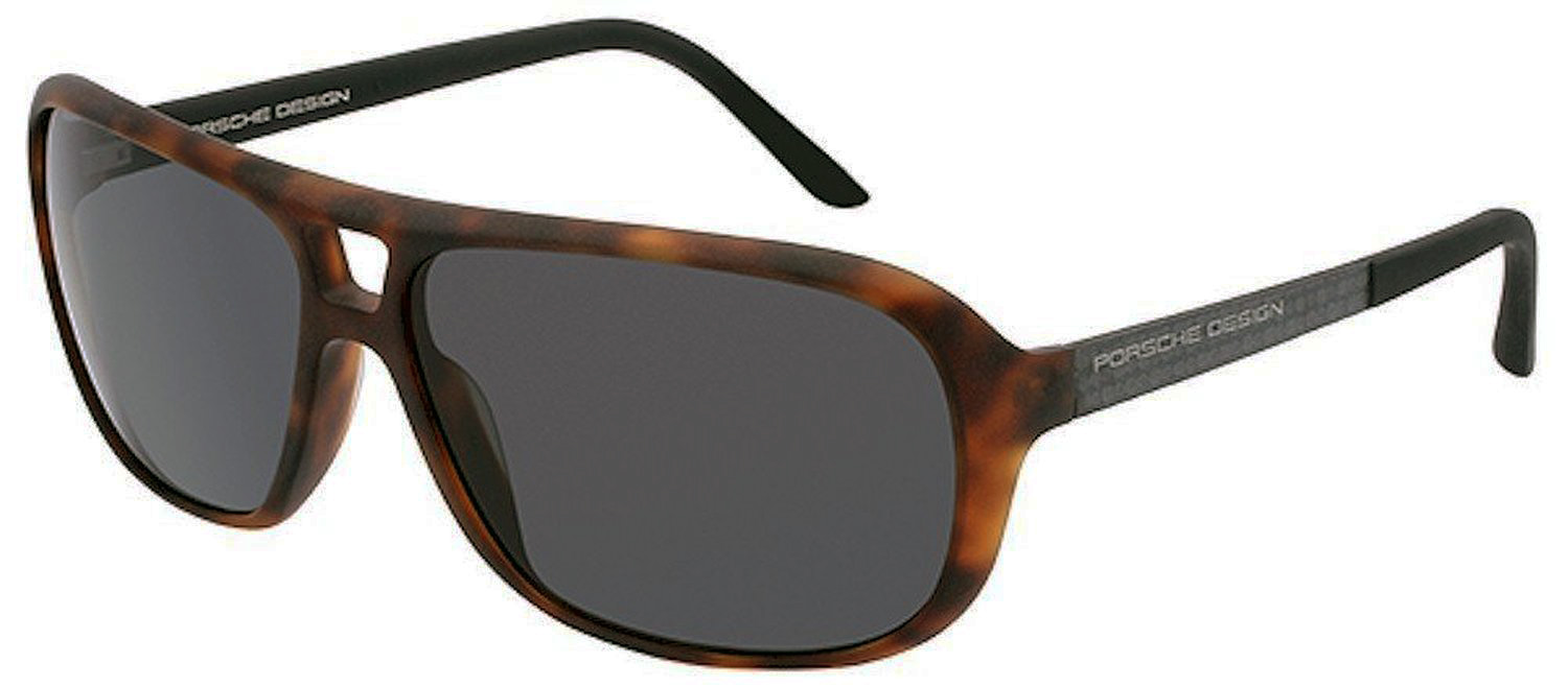 Porsche Design P8557-C Women's Matte Brown Sunglas
