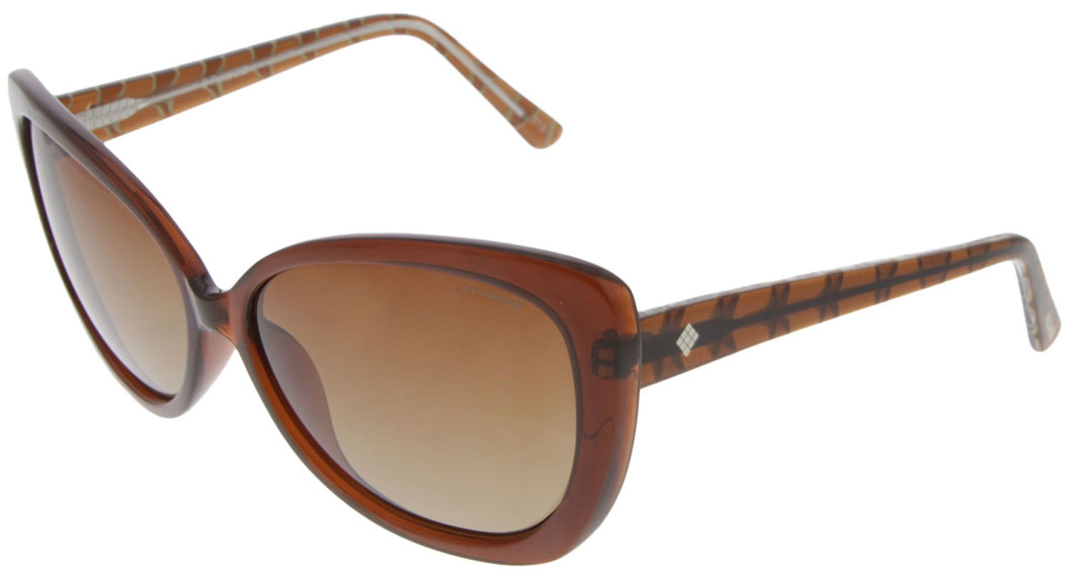 Polaroid F8315B BKQ Cateye Women's Brown Polarized