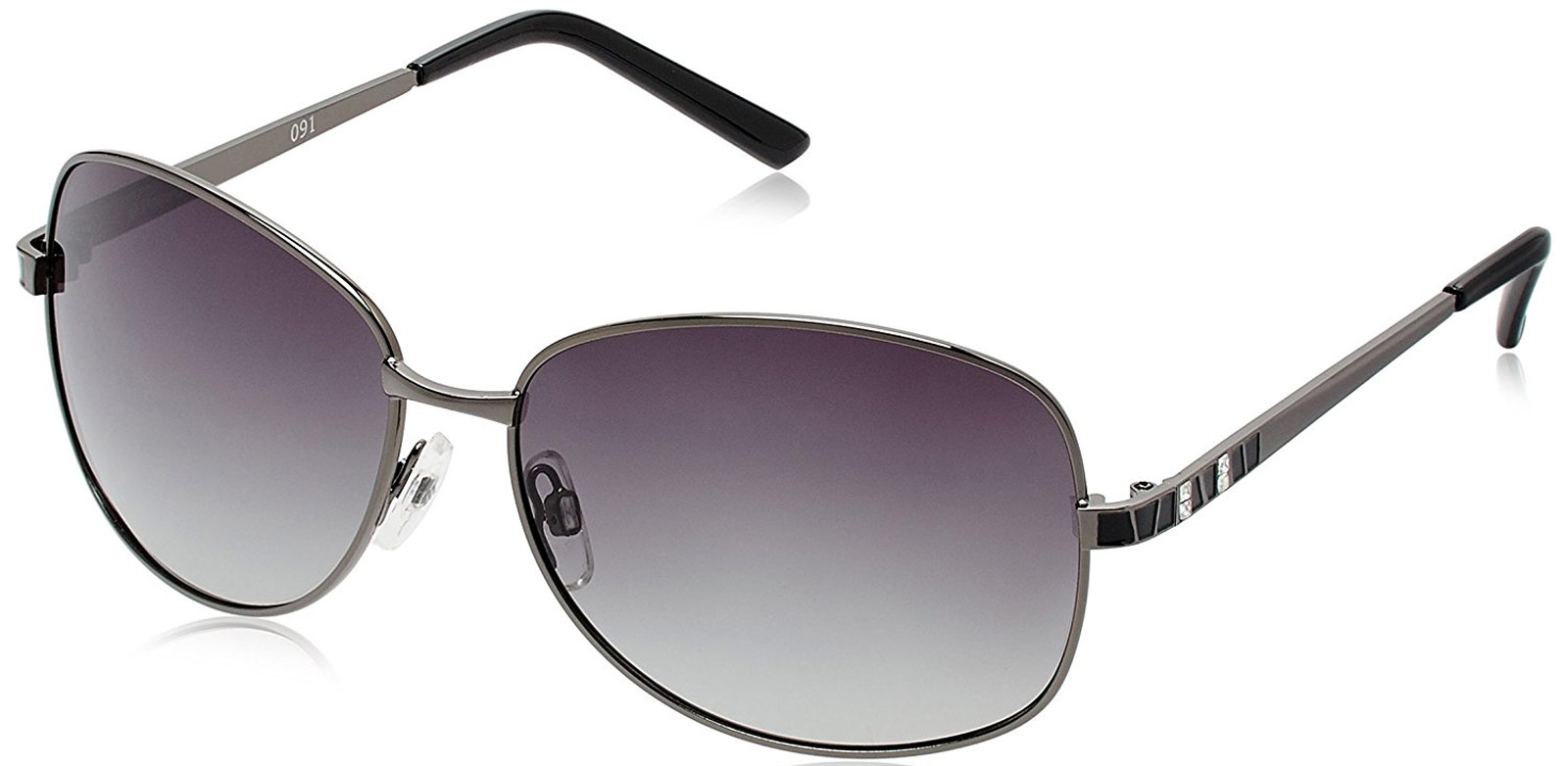 Polaroid P4205 A Women's Gunmetal Sunglasses Gradi