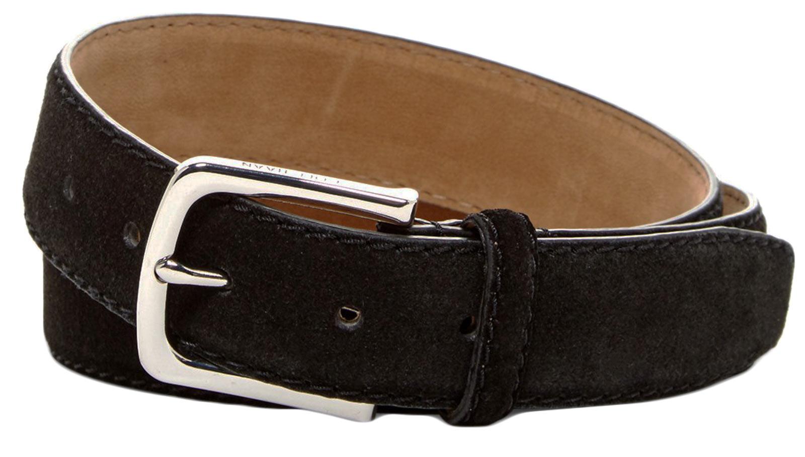 Cole Haan CHDM31034 BLK Men's Black Suede Leather
