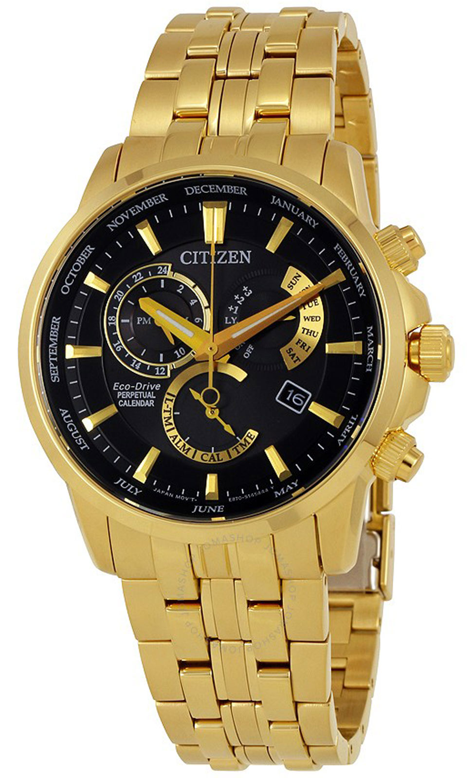 Citizen BL8142-50E Men's Eco-Drive Gold-Tone Steel