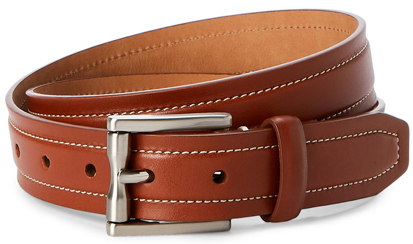 Cole Haan CHRM31047 Men's Brown Leather Belt Size