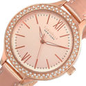 Caravelle New York 44L132 Women's Round Analog Ros