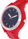 Armani Exchange AX1382 Black AX Logo Dial Red Stra