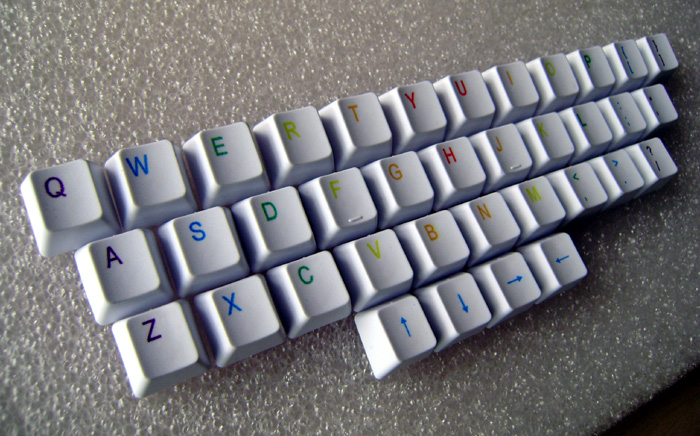 37 Rainbow Key caps for any MX Cherry Switches,Fil